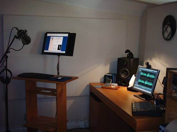 Paperless Recording Studio for doing voiceovers